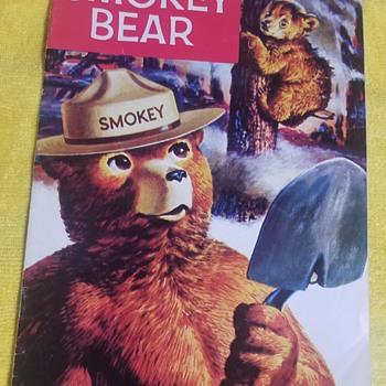Smokey The Bear Snuffit, Comic Book, Ashtray & Meddalian  - Firefighting