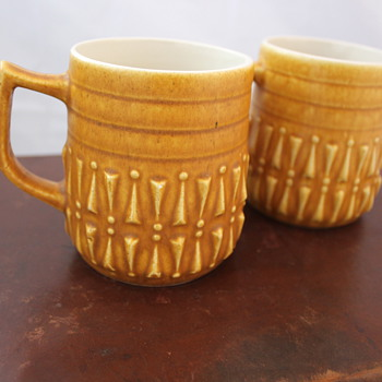 My favourite find. Lovely Relief ware mugs. - Kitchen