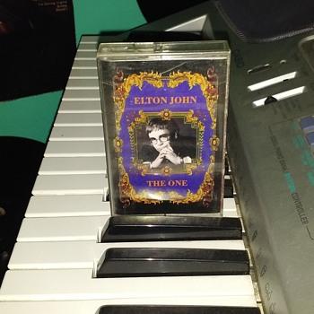 Sir Elton John....On Cassette Tape Format - Records