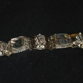 Mexican Vintage Alpaca Bracelet - Fine Jewelry