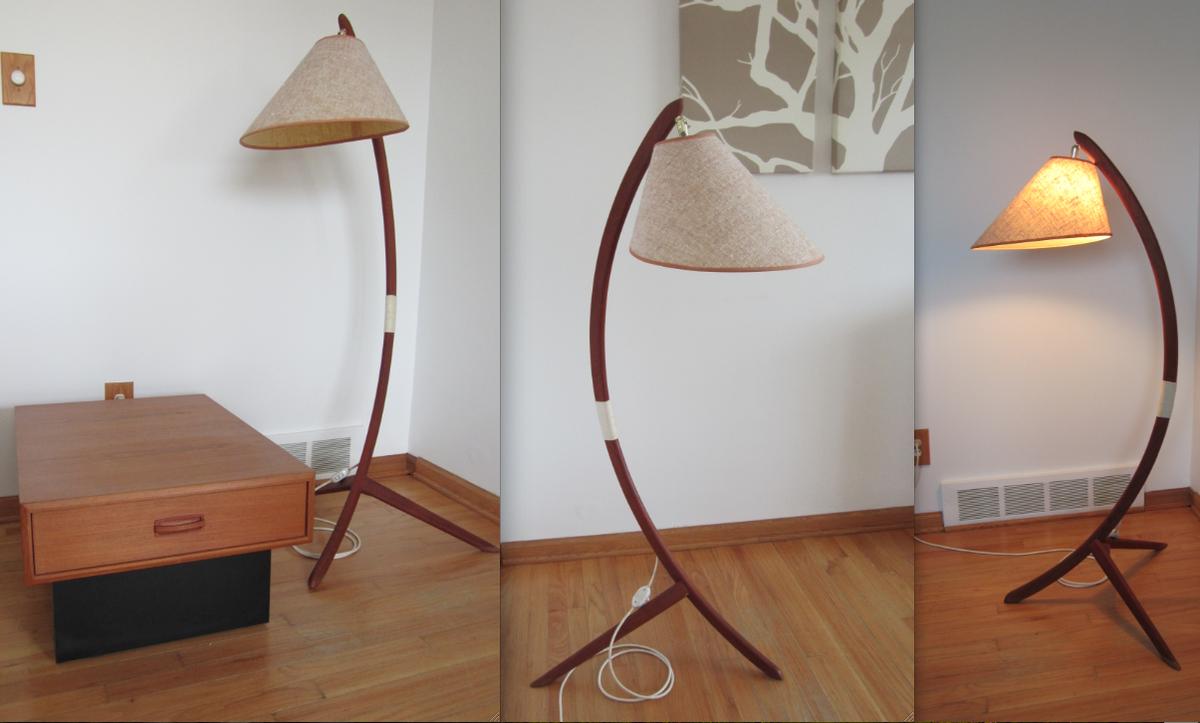 Danish teak floor lamp collectors weekly mozeypictures Gallery
