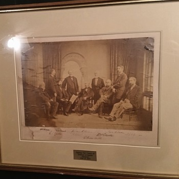 Signing of the Treaty of Isthmus of Darien (Panama) February 13, 1869 ( Signed)  Any information would help???? - Photographs