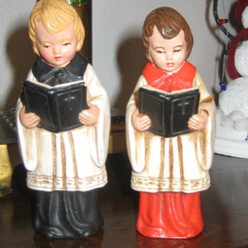 German hard plastic Choir Boys