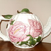 Philippines Rose Tea Pot