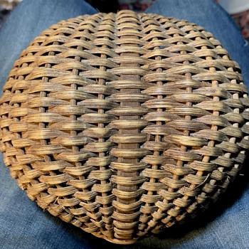 Ash-splint Buttocks Basket - Furniture