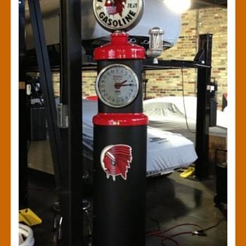 Tokheim Clockface 850 restoration  - Petroliana