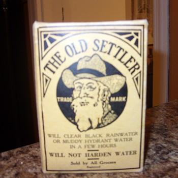 THE OLD SETTLER - Advertising