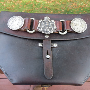 Vintage Leather Bag - Military and Wartime