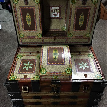 Late 1870's Romadka Brothers interior complete. - Furniture