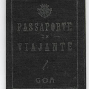 1953 Rare colonial Portuguese Goa issue - India.  - Paper