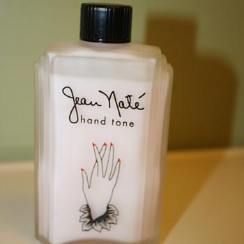 """Vtg Jean Nate """"  hand tone  4 oz - Bottles"""