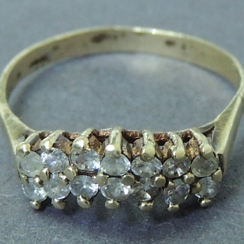 Ring With Diamonds? Cubic Zirconia? Opinions Welcome - Fine Jewelry