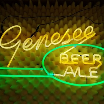 1940s or 50s Genesee Beer Neon    - Signs