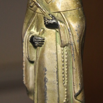 San Martin de Porres Metal Statue - Figurines