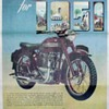 DomiRacer Motorcycle Advertising Poster - 1951 Triumph