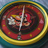 "22"" Super Mario Bros. 2 Wall Clock Nintendo 1989"