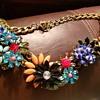 Flower necklace vintage