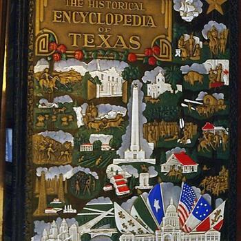 1936 Historical Encyclopedia of Texas - Books