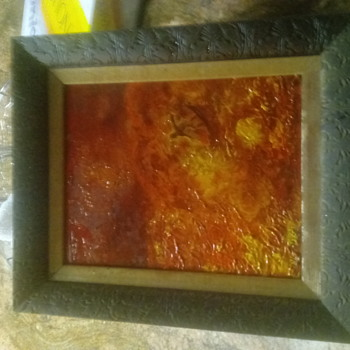 Nife oil painting 50s abstract - Fine Art