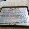 """American's Creed"" by William Tyler Page (1917) Sampler"