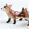 Relco Bone China Red Fox Shakers