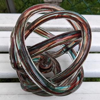 Glass sculpture - Art Glass
