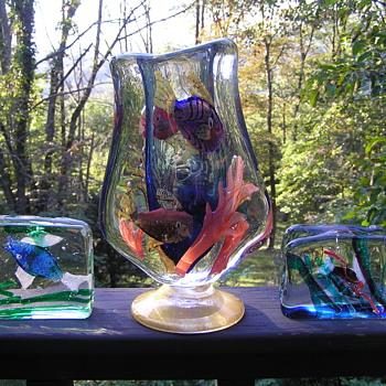 Murano Glass Aquariums