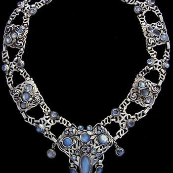 Arts & Crafts Necklace attributed to Frances Thalia How and Jean Milne