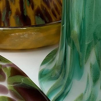 Loetz Opal/Sea Blue (attributed) - Additional Photos - Art Glass