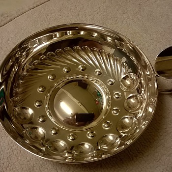 Beautiful Greggio, Padova Italy, Sterling Silver NOT An Ashtray, Thrift Shop Find~!  - Tobacciana