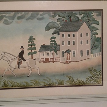 Folk Art Goddard's Williamsburg Americana