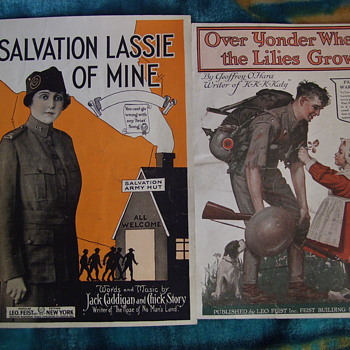 MORE WW1 ERA SHEET MUSIC! - Music Memorabilia