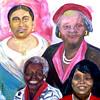 Four Generation Portrait Painting using Acrylic  medium on gallery canvas