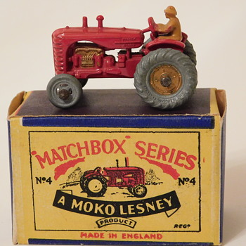 Matchbox Massey Harris #4A Question/Verification (produced 1954-55) for fortapache....... - Model Cars
