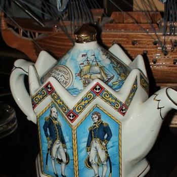 Battle Of Trafalgar Teapot By Sadler - China and Dinnerware
