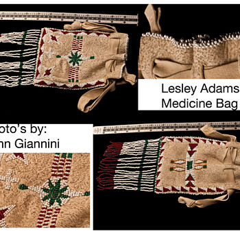 Turn of the Century Plains Indian Medican Bag  - Native American