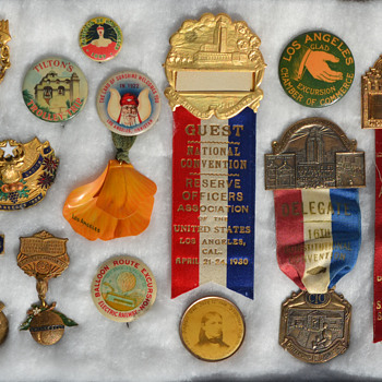 Los Angeles convention medals - Medals Pins and Badges