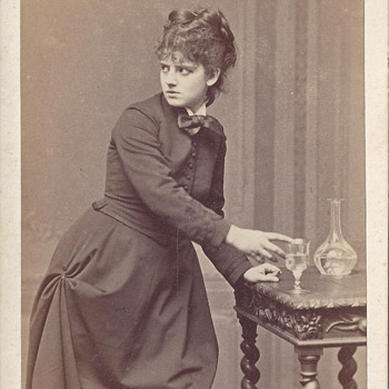 Actress Sophie Croizette CDV by A. Ken and Emile Bondonneau of Paris, France - Photographs
