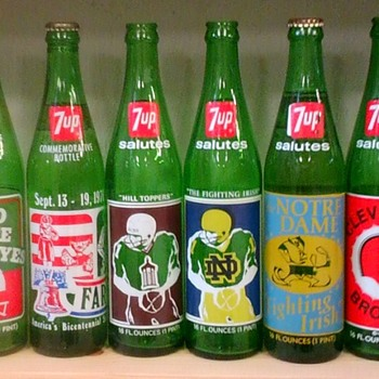7up Commemorative bottles!  - Bottles