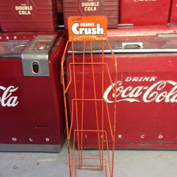 Orange Crush Rack  - Advertising
