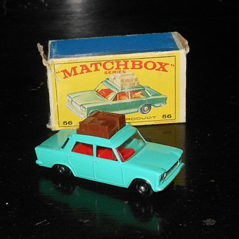 Matchbox Fiat 1500 with E Style Box - Model Cars