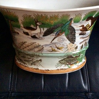 Chinese planter vase - Asian