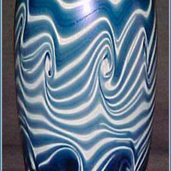 Extremely Rare Imperial Art Glass Vase  c. 1923 - Art Glass