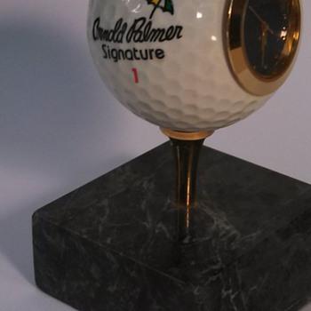 Arnold Palmer Signature Golf Ball Clock - Sporting Goods