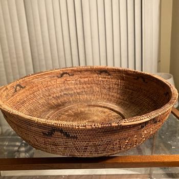 American Indian Basket  - Native American