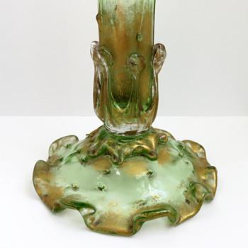 Monumental Early Loetz Glass Vase.