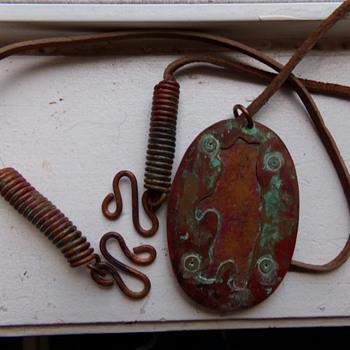 Bear Amulet - Costume Jewelry