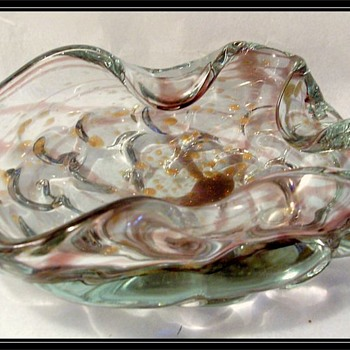 Murano Art Glass Bowl ( or a.ka Ashtray )
