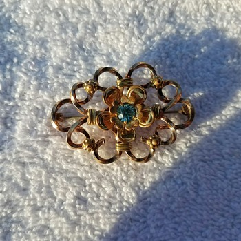 Vintage Pretty and Delicate Louis Stern Pin/Brooch