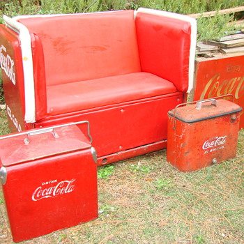 Coca-Cola stuff I've collected lately